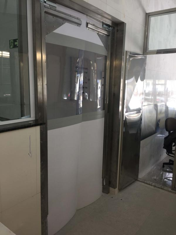 Porta de pvc para cozinha industrial