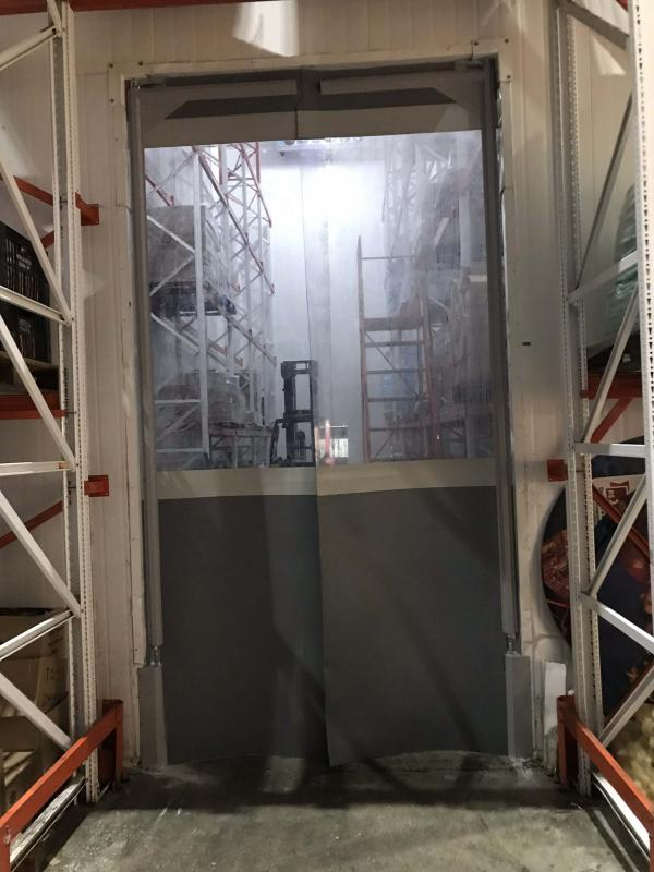 Porta de pvc flexdoor