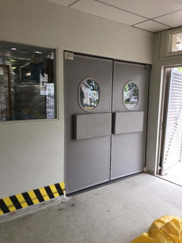 Porta rígida pvc