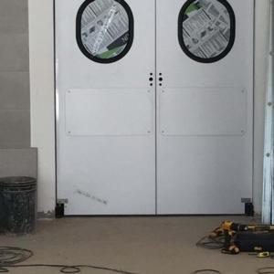Porta ideal para cozinha industrial